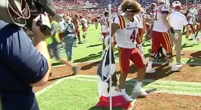 Image result for iowa state flag planting