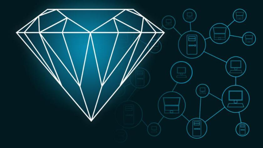 Blockchain technology and #AI join forces to keep diamonds out of the rough. See how:  💎