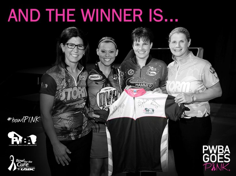 test Twitter Media - The winner of this #PWBAGoesPINK Jersey is Nicole Mottier! Congrats! Like @BowlfortheCure on Facebook for another chance to win a Jersey! https://t.co/l5WF5qsM3m
