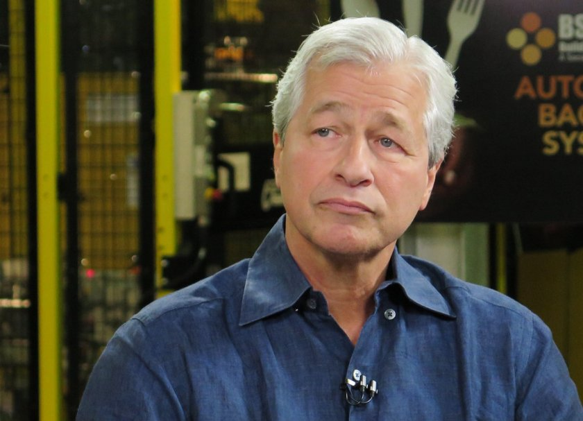 Jamie Dimon says people who buy #bitcoin are 'stupid'