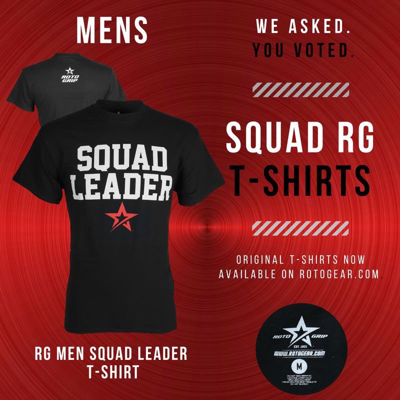 test Twitter Media - New designs have been added to #RotoGear!  Check out the *NEW* RG Men Squad Leader T-Shirt : https://t.co/HPYqbyBngJ #RotoGrip #SquadRG https://t.co/iQ0Gp3ogE5