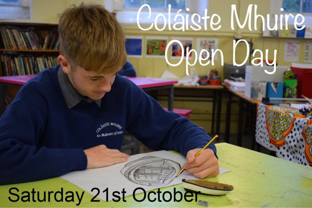 Don't forget our Open Day is on this Saturday.