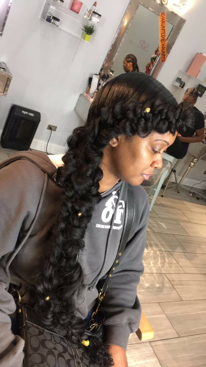 ChicagoHairArtist On Twitter Butterfly Mermaid Braid