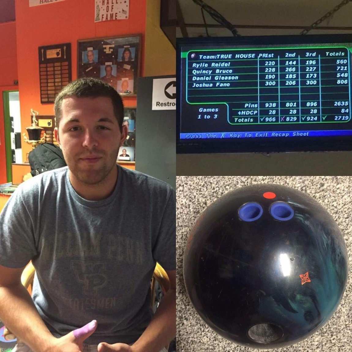 test Twitter Media - What a night on the lanes for Josh Fane! He set a new personal high set and added two 300's with the #DareDevil &  @Storm_Nation IQ Tour. https://t.co/jFXHbinHx7