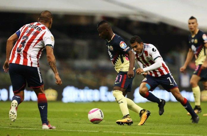 Repetición goles del América vs Chivas