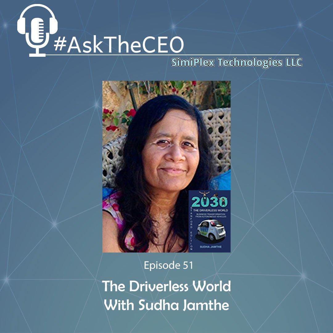 Listen to #AskTheCEO Ep51 #AutonomousVehicles #AI #IoT with @sujamthe on #Soundcloud