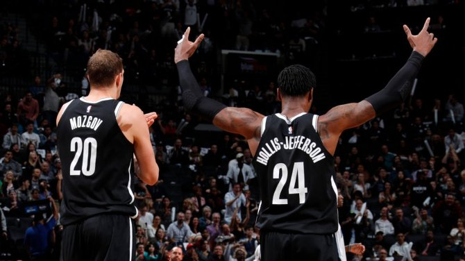 RT @BrooklynNets #NetsNation, you brought it tonight!! 🔊🔊🔊  Thank you for making the home opener special   #WeGoHard