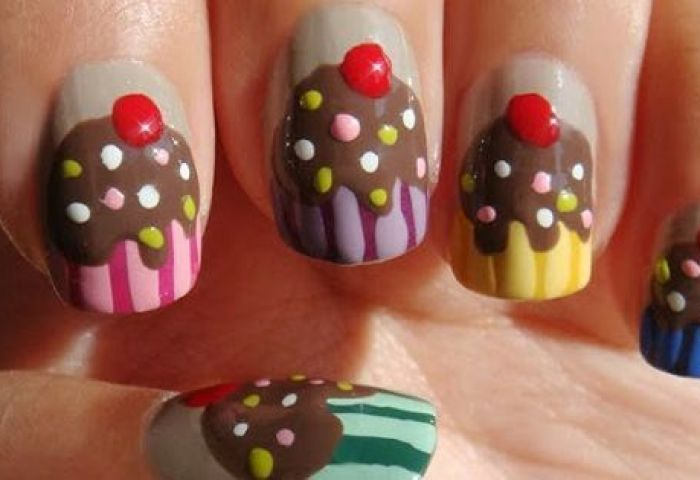 Uñas Decoradas Club On Twitter Uñas Decoradas Hello Kitty
