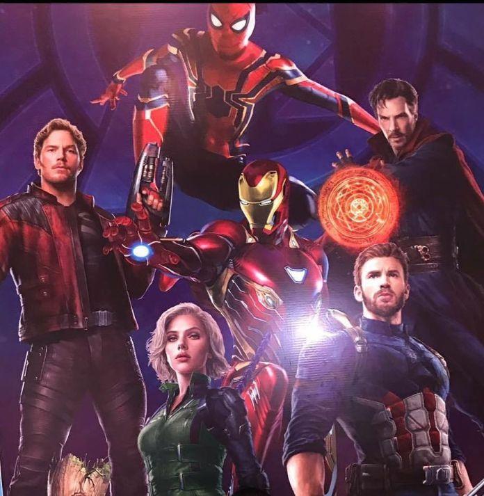 Trajes de Avengers Infinity Wars