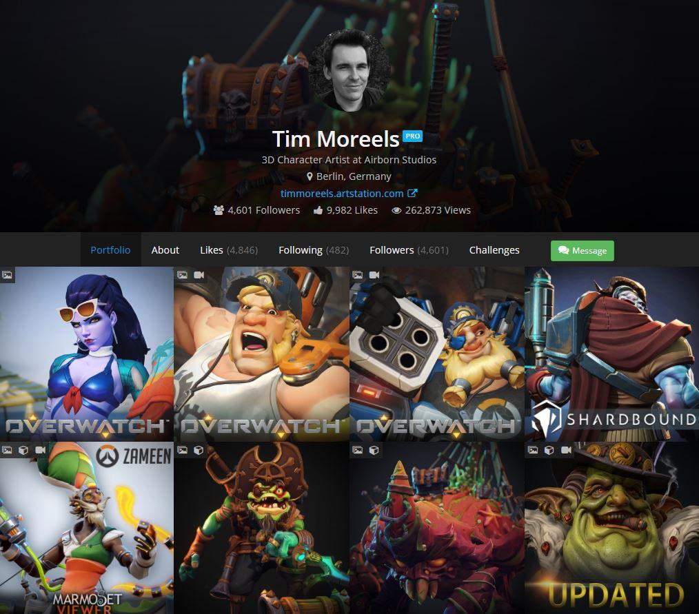 tim moreels on twitter