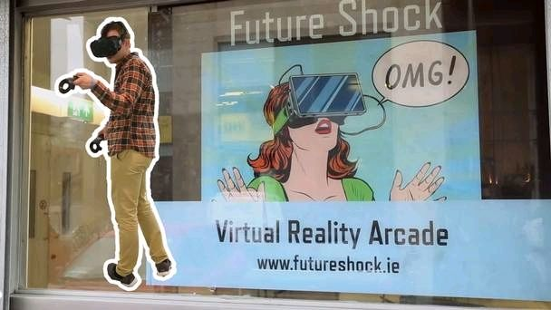 Take a sneak peek inside this cool new virtual reality gaming arcade opening in Dublin  #vr