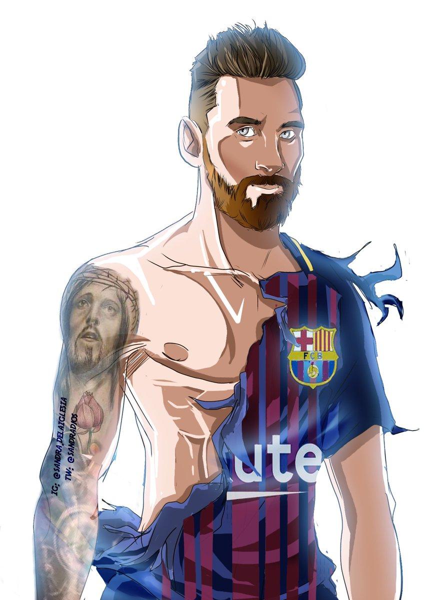 Dibujos De Messi : dibujos, messi, Sandra, Twitter, Imagino, Antonella, Diciendole, Messi,