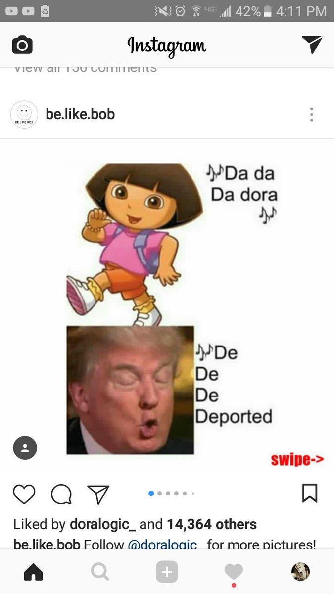 Trump Dora : trump, Donald, Trump, Deportation?!
