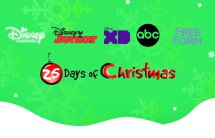 25 days of christmas disney channel 2017
