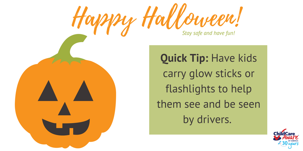 test Twitter Media - RT @USAChildCare: Happy Halloween! Here's a quick tip. #staysafe #happyhalloween #safetytips #childcareprepare https://t.co/kNfdoZRNHe