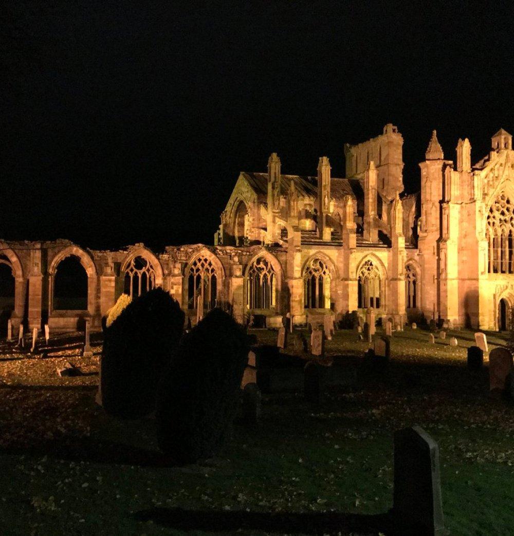 Image result for The Hunderprest Of Melrose Abbey