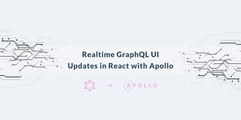 Realtime GraphQL UI updates in React with Apollo  #ReactJS #GraphQL