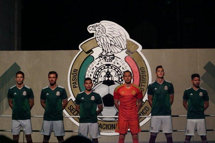 playera seleccion mexicana 2018