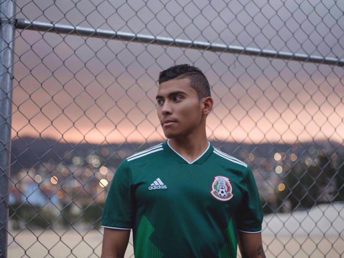 playera seleccion mexicana 2018