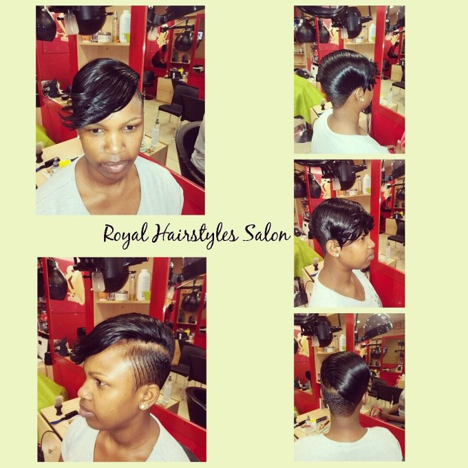"royal hair salon on twitter: ""#riri bob hairstyle"