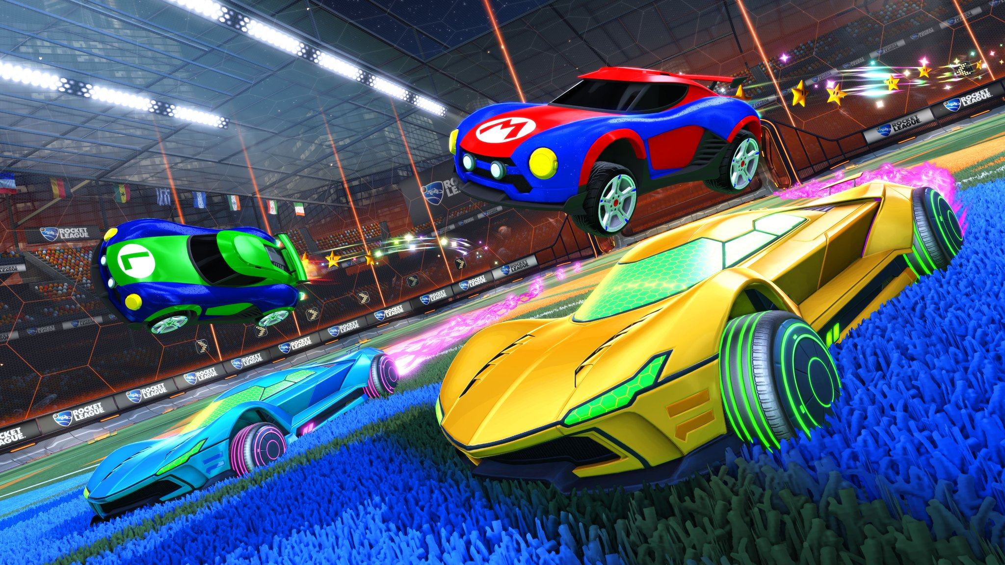 Future Cars 2018 Wallpapers Rocket League On Twitter Quot Rlonswitch Drops Worldwide