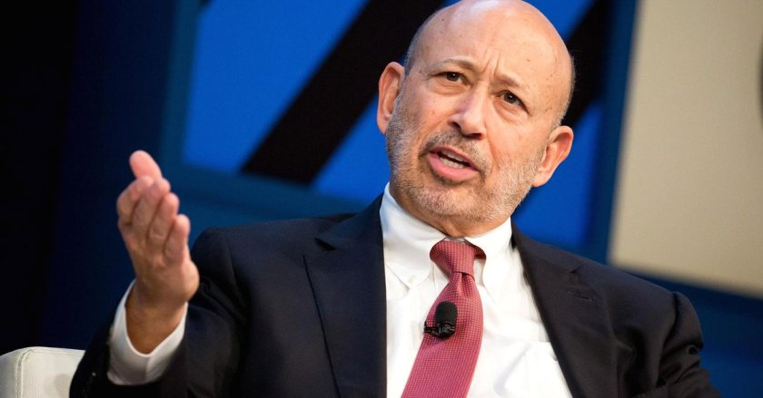 'Maybe bitcoin is a kind of bubble,' Goldman Sachs CEO Blankfein says