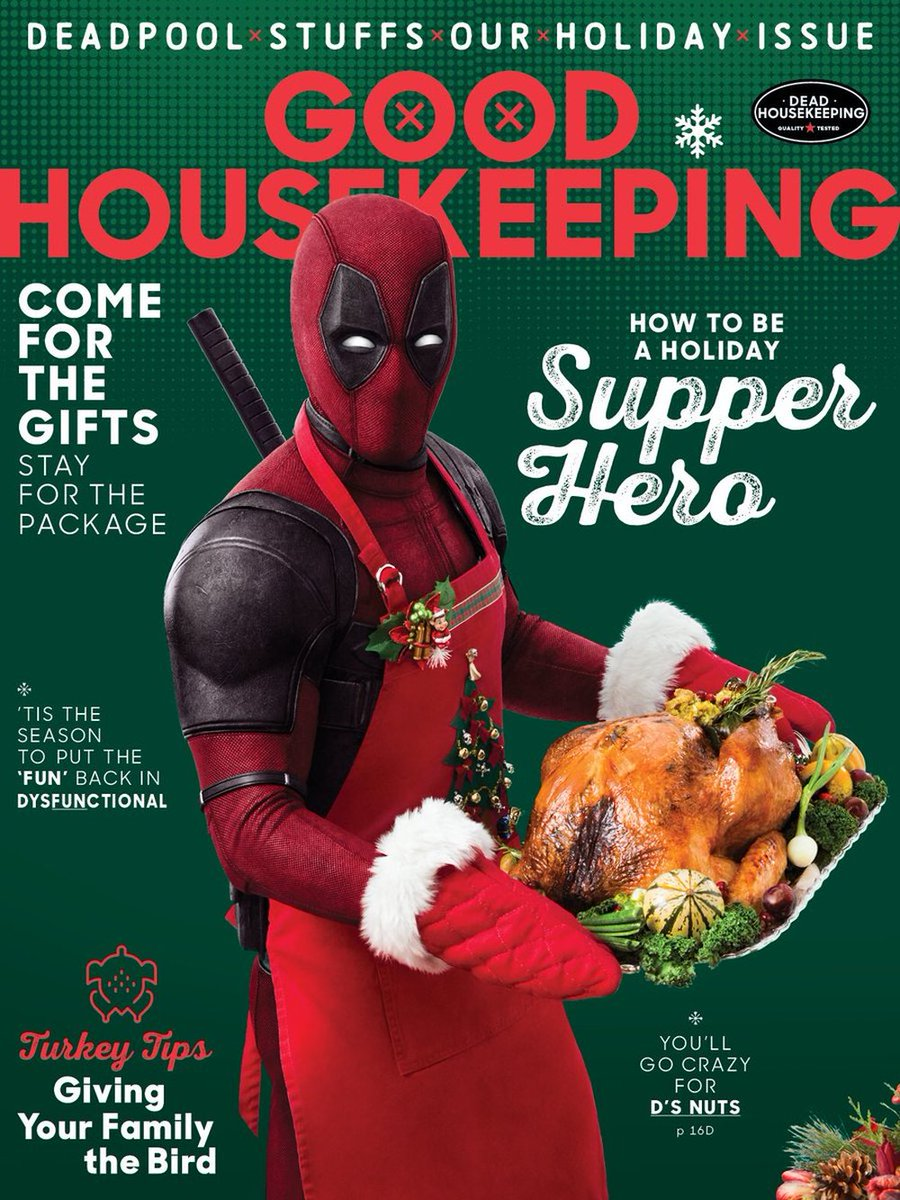 Deadpool Good Housekeeping Magazine