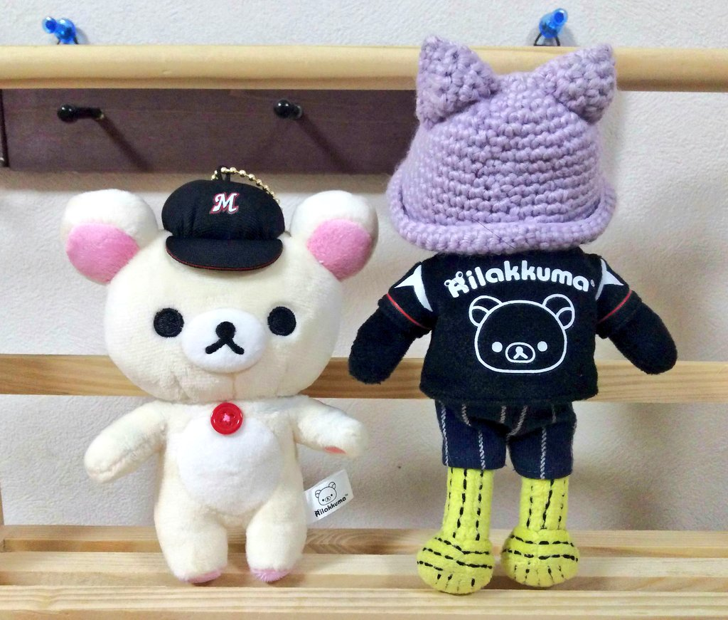 test ツイッターメディア - #謎の魚  東京ドームのショップで マリーンズコラボのコリラックマを買って来ました。  ユニホームが、謎の魚クンにぴったり✨✨ と、言うことは、ペダぬいちゃん達にもぴったりですよ٩(ˊᗜˋ*)و🎶  各球団のコラボ服があるみたいなので、野球好きなフォロワーさん、是非探してみて下さい✨✨ https://t.co/17rf9U9KbQ