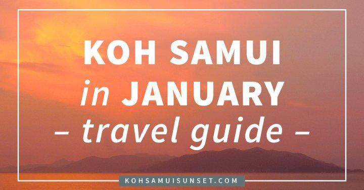 Weather In Koh Samui