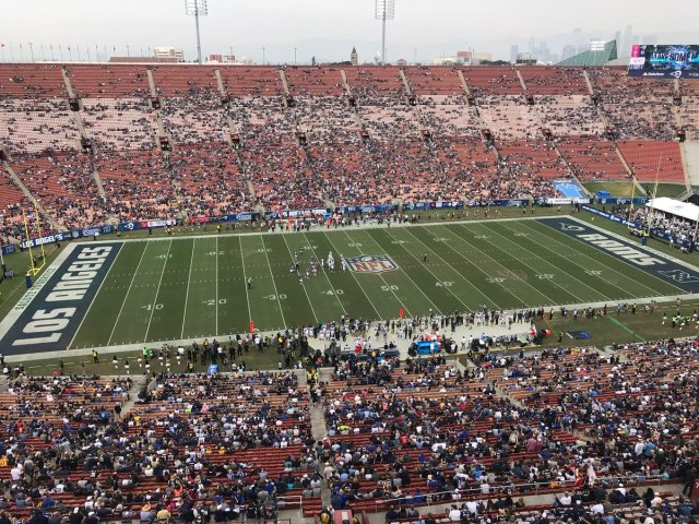 Houston Texan Vs. Los Angeles Rams
