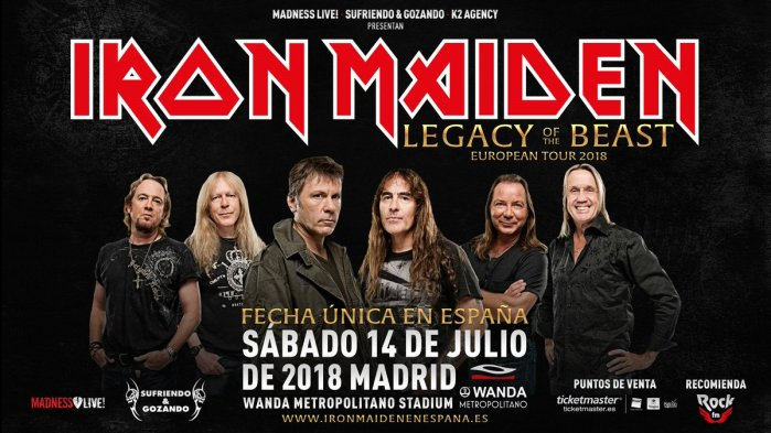 Wanda Metropolitano Iron Maiden