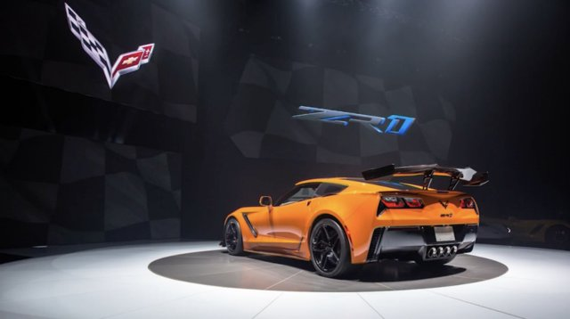 GM unveils fastest Corvette ever with top speed of 210 mph