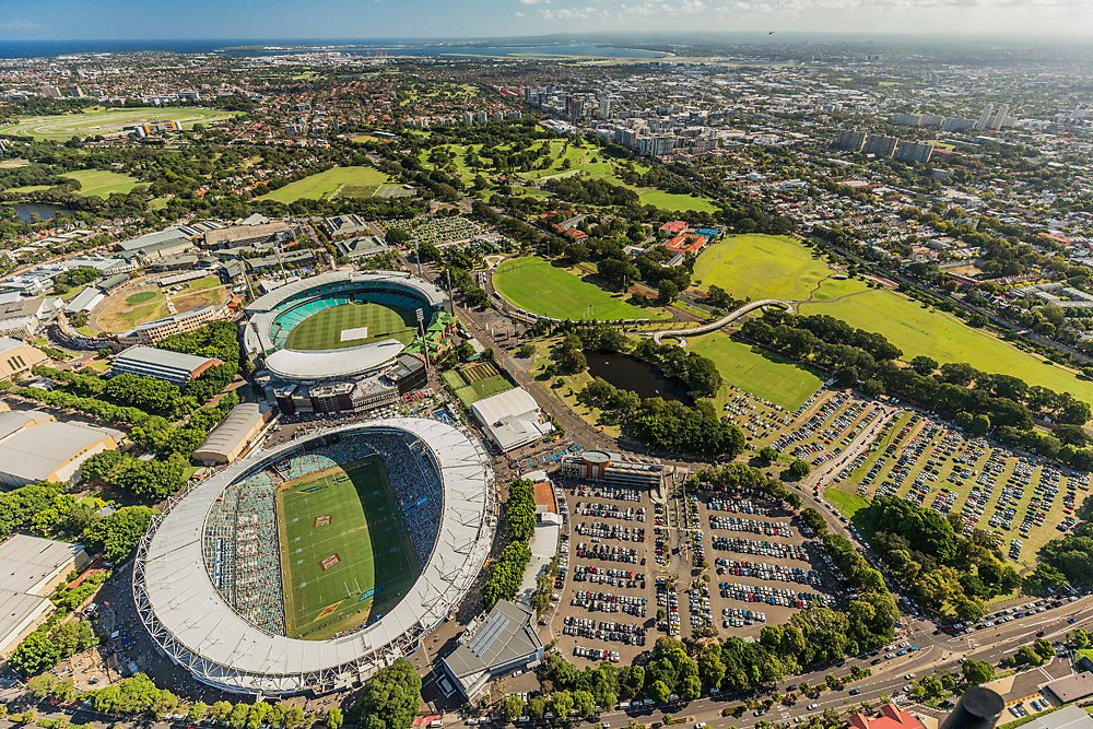 Centennial Parklands Sydney Fc Roosters And Nsw Waratahs