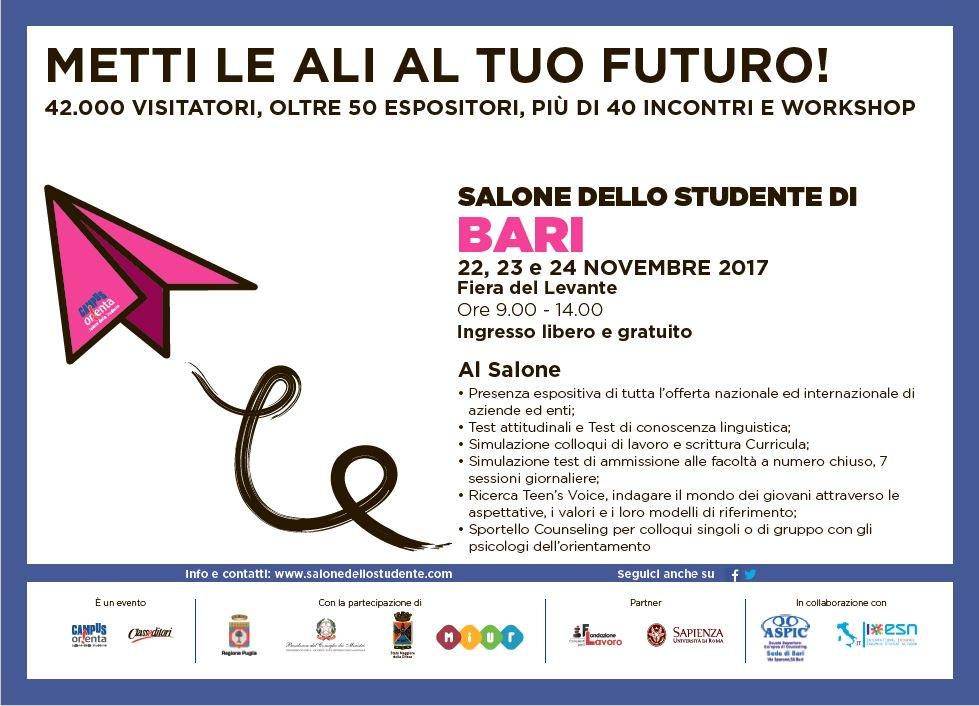 Salonedellostudente On Twitter Al Salone Di Bari Non
