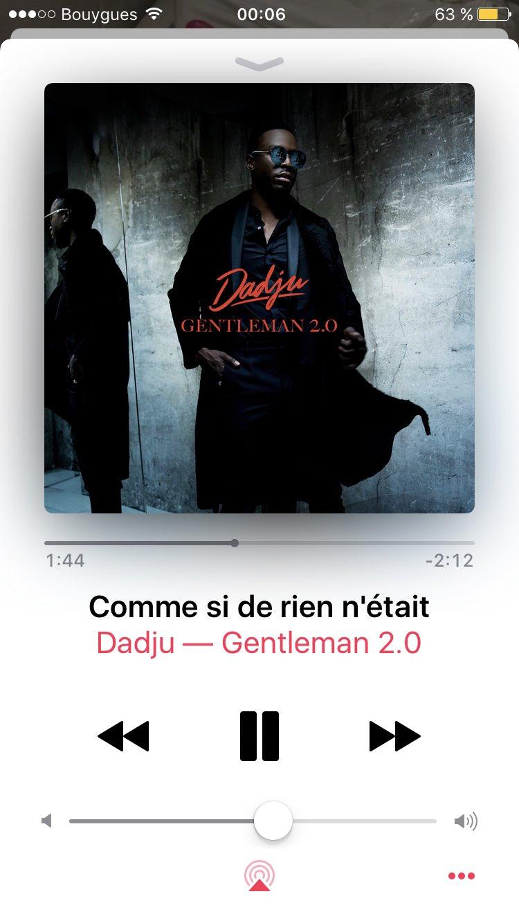 Dadju Gentleman 2.0 Titres : dadju, gentleman, titres, DADJU, Twitterren:,