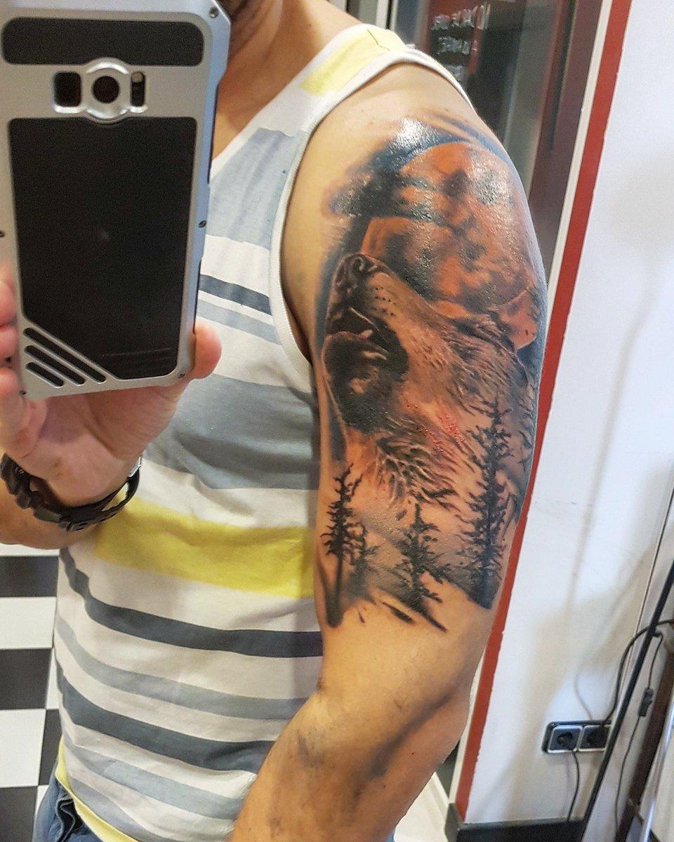 Jordi Wild On Twitter Foto Del Tatuaje Acabado De Hacer Aún Hay
