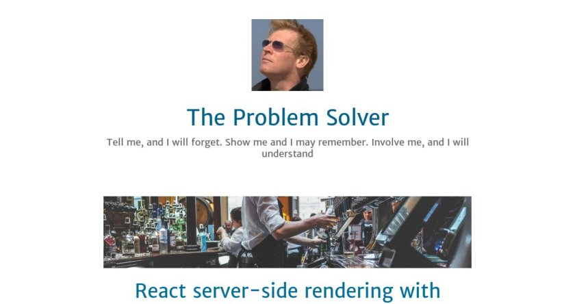 #React Server-Side Rendering with #Webpack  #reactjs #javascript #Programming #coding