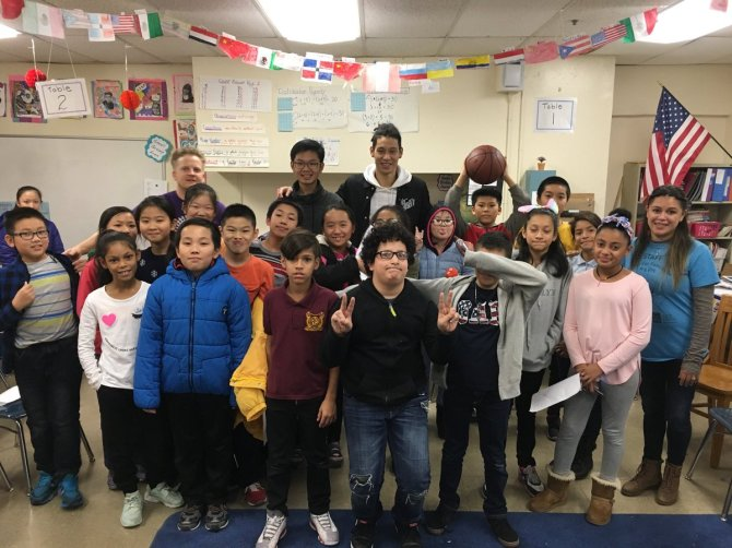 Getting to know some of the awesome kids from Center for Family Life @JLin7 #Brooklyn