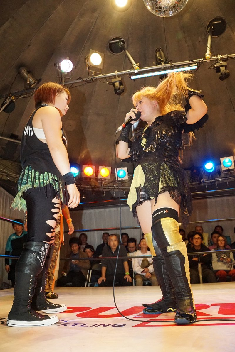 Wrestling Revolution D Exhibition Title Match : Ringbelles roundup 12 9 17 u2013 fallout from rise 6 & aws brutality