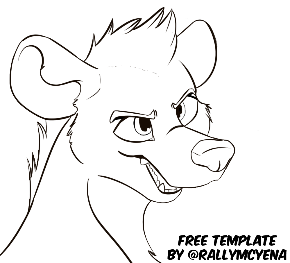 Pretty Furry Template Images >> How To Draw Furry Wolf