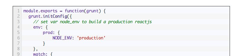 How to create a #production #build using #ReactJS