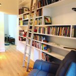 Dyfed On Twitter Bespoke Library Bookcase With Ladder