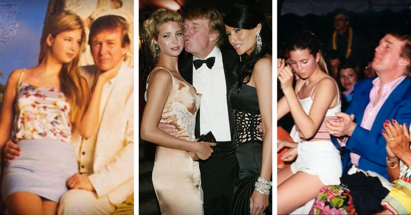 Image result for donald trump fucks his daughter