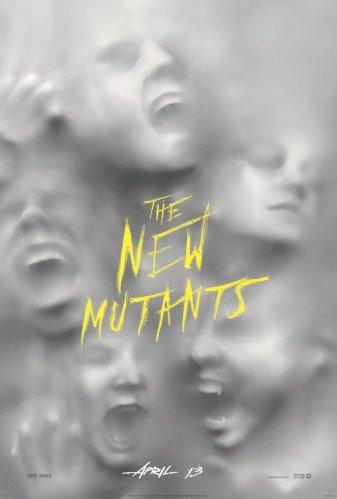 """Poster de """"Os Novos Mutantes""""."""