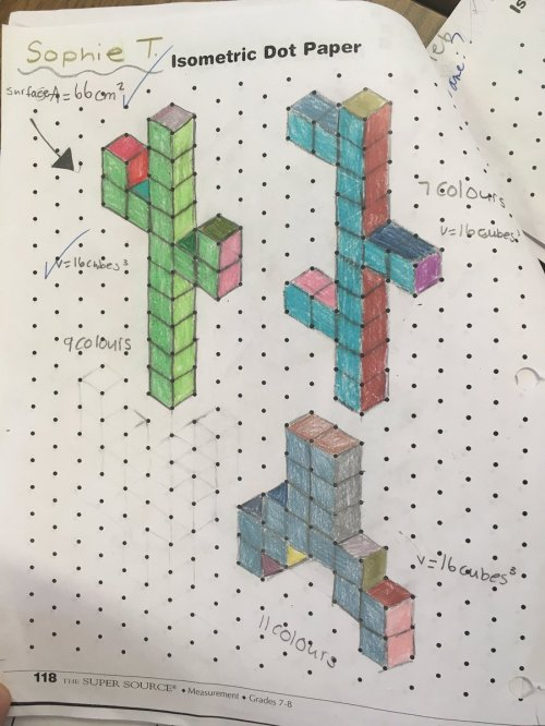 small resolution of Hard Isometric Dot Paper Drawings