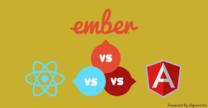 Choosing Right Javascript Development Framework: AngularJS vs React vs Ember