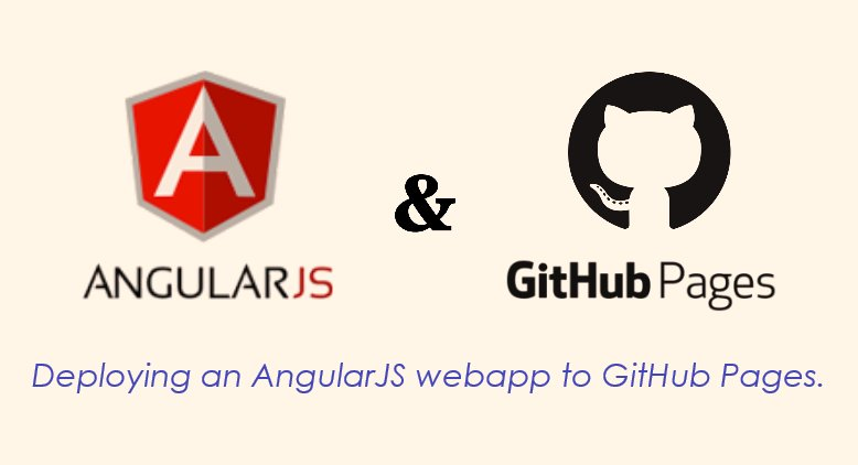 """ #Angular & #Github pages, the easy way."" by Rabbi Shuki Gur"