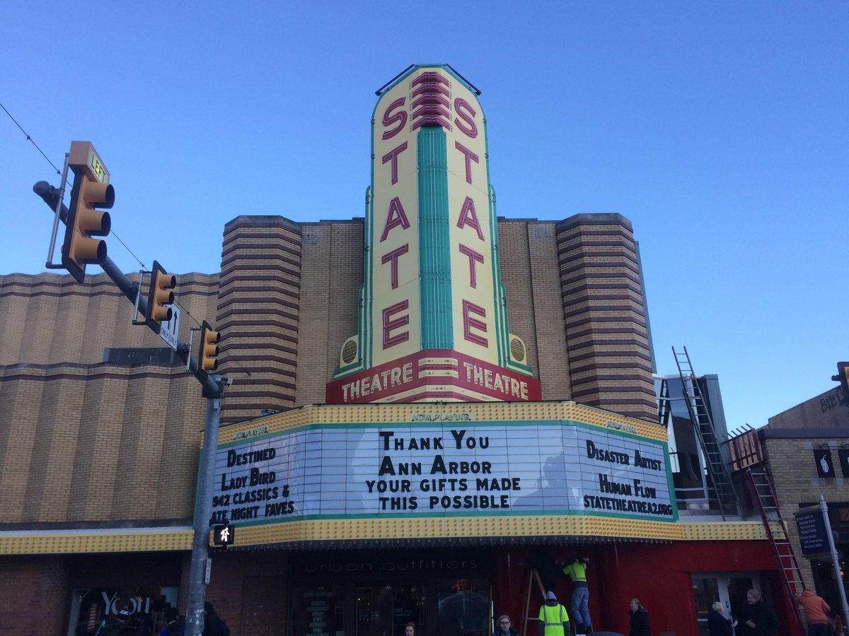 state theatre on twitter