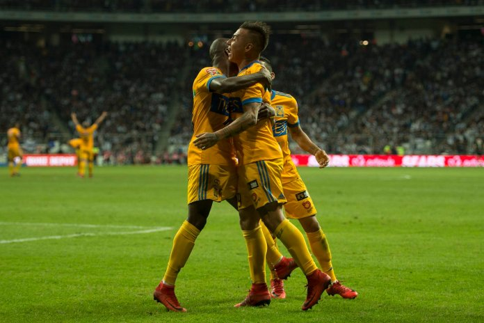 Repetición goles Tigres vs Monterrey