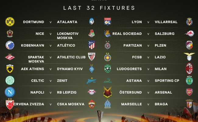Uefa Europa League On Twitter The Official Result Of The